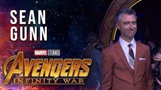 Sean Gunn Live at the Avengers: Infinity War Premiere