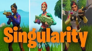 Unlocking SINGULARITY and all of her COLOR SCHEMES in FORTNITE!