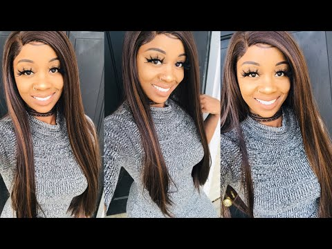 Amazon synthetic lace front wig review featuring Chantiche Hair