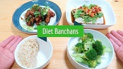 How to make Korean Diet Banchans