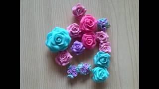 Мастер класс для начинающих, по лепке розы из полимерной глины
