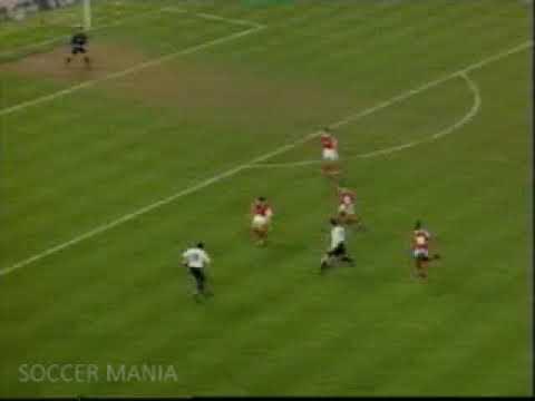 [Ryan Giggs]  50m dribbling  manchester united vs Arsenal FA Cup Semi Final 1999