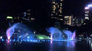 Dancer Fountain with Titanic music 16/4/2013 in Malaysia