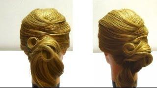 Прическа на каждый день своими руками Hairstyle for every day own hands(Сделать прическу своими руками не так уж сложно.В этом видео вы увидите прическу,которая подойдет на кажды..., 2014-02-02T08:15:18.000Z)