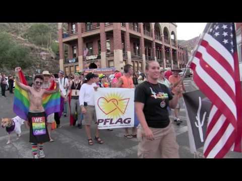 Bisbee Walks with Pride 2016