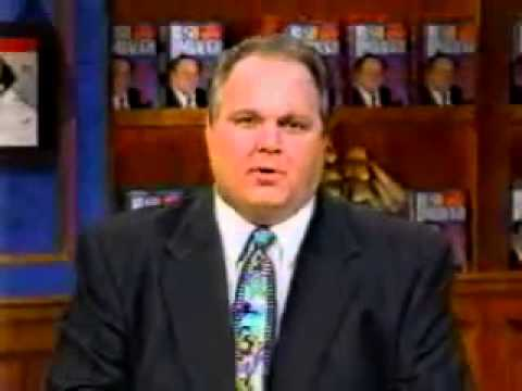 1994 Rush Limbaugh Defends Michael Jackson