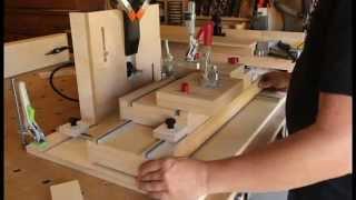 Horizontal Slot Mortise Machine w/ Festool Dominos