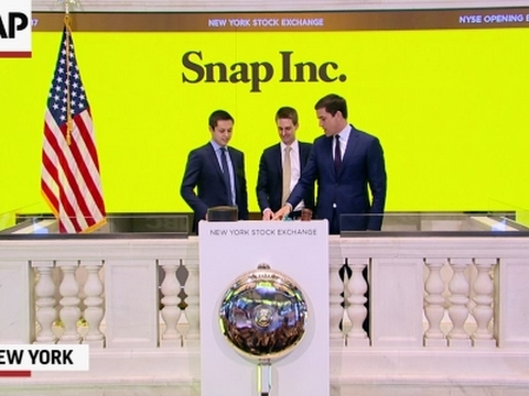 Snap Inc. Goes Public at NYSE