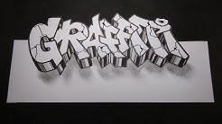 Tutorial cara membuat graffiti 3d di kertas