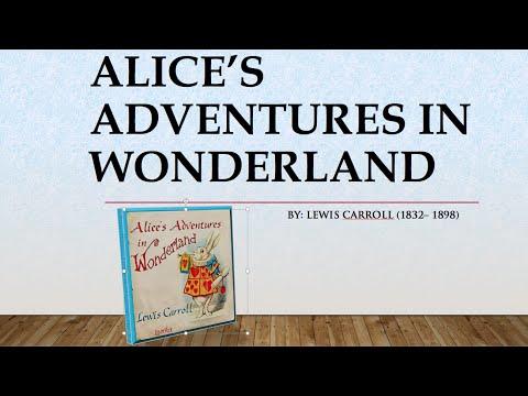 Alice's Adventures In Wonderland - Lewis Carroll - Listen & Read Full AudioBook