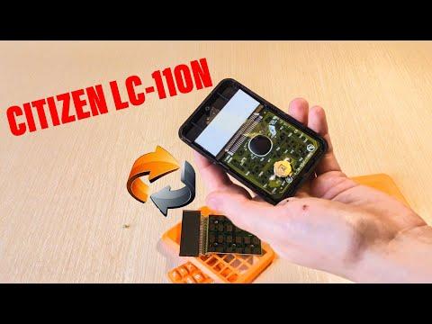 Починил калькулятор CITIZEN LC-110N и наклеил защитное стекло на объектив камеры IPhone