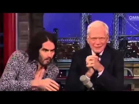 Russell Brand on David Letterman October 13th 2014 Full Interview