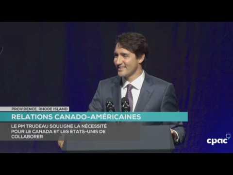 Prime Minister Justin Trudeau Addresses NAFTA at 2017 US Governors' Conference