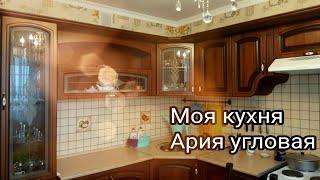 Недорогая кухня. Кухня Ария угловая. Обзор моей кухни.