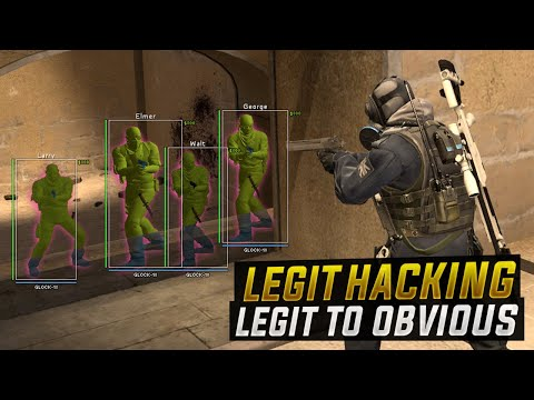 CS:GO | LEGIT Hacking // LEGIT TO OBVIOUS HACKING#OverwatchBypass