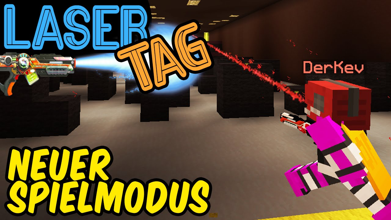 Lpmitkev server ip  NEUER SPIELMODUS ☆ LASERTAG | Minecraft Server | LPmitKev - YouTube