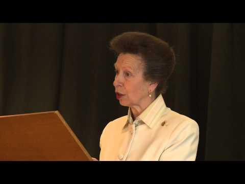 HRH The Princess Royal Addresses the Caley Awards
