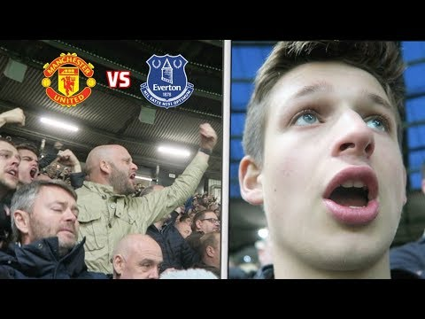 MAN UNITED Vs EVERTON - Martial DIVED... (Jose Mourinho IN?!)