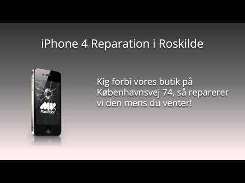 iPhone 4 Reparation i Roskilde - MacVision.dk