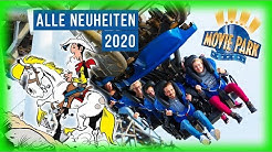 Movie Park Germany: Alle Neuheiten 2020 & neue Attraktion 2021! | FunTime News #40