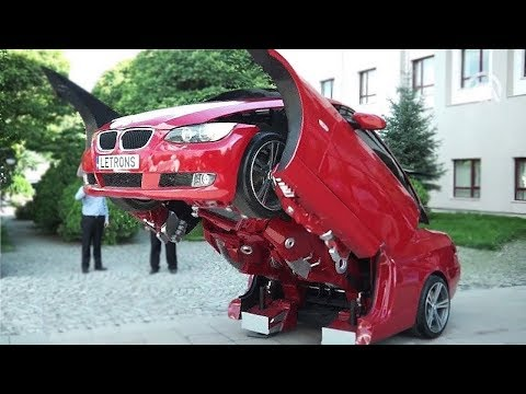 20 Невероятных Машин Трансформеров, От Которых Ты Офигеешь
