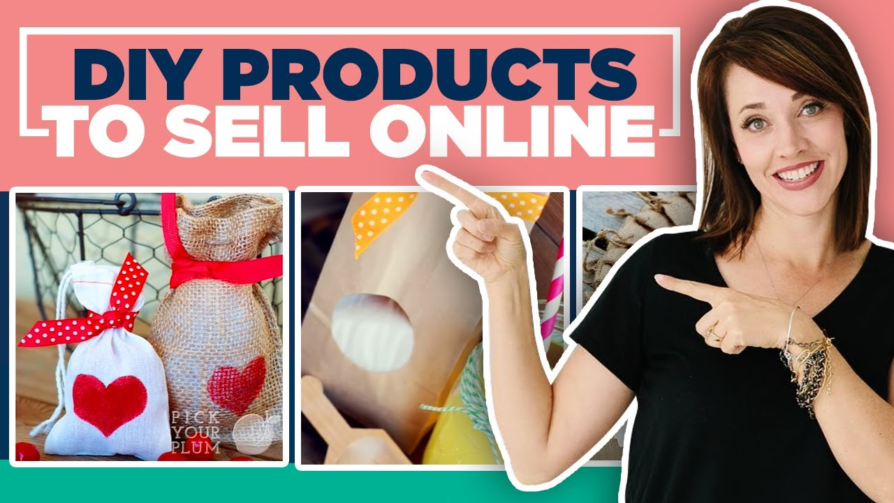 DIY Products to Sell Online - YouTube