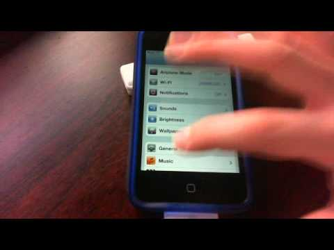 turn off voice over iphone how to turn voice on your ipod touch iphone 7424