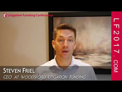 Steven Friel CEO Woodsford Litigation Funding Keynote October 2 LF2017 Conference And Summit