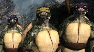 Top 5 Skyrim Mods of the Week - Decapitating Donatello