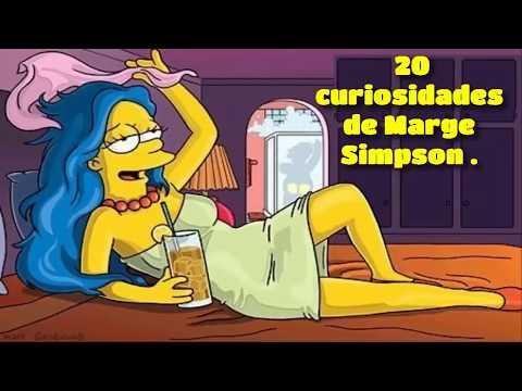 EL ROMANCE DE MARGE CON NED FLANDERS (+18) | 20 CURIOSIDADES DE MARGE SIMPSON
