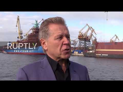 Russia: Russian floating nuclear plant is towed to sea