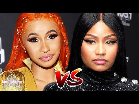 Nicki Minaj and Cardi B get into an UGLY feud on social media! (FULL BREAKDOWN) Mp3