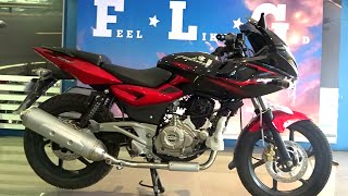 #Bikes@Dinos: Bajaj Pulsar 220F DTSi Review, Exhaust Note (Walkaround Red and Black colours)