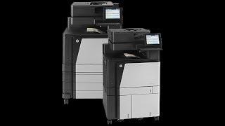 HP Color LaserJet Flow MFP M880 - Firmware Update & Overview