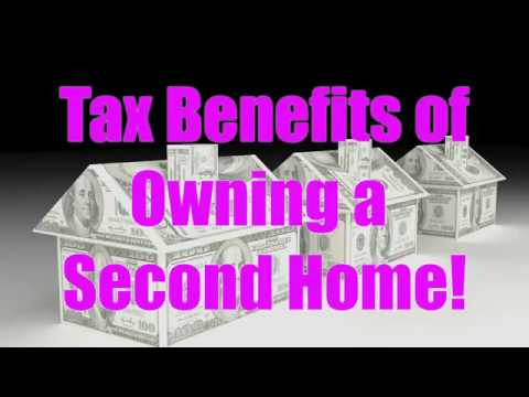 Tax Benefits of Owning a Second Home!