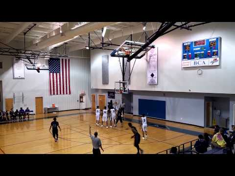 Winston Salem Christian Lions vs Burlington Christian Academy Royals 11/23/2015