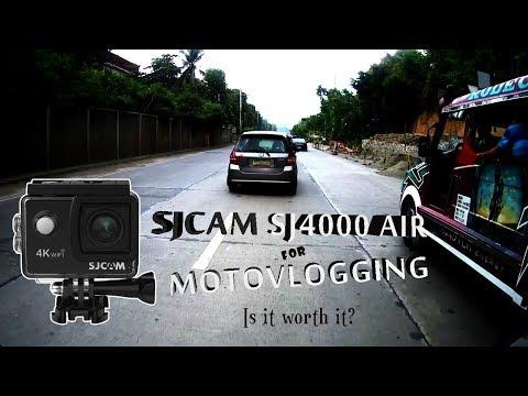 SJCAM SJ4000 Air For Motovlogging! Is It Worth It?