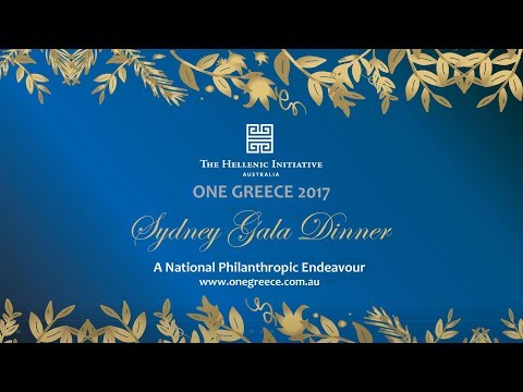 The Hellenic Initiative Australia  Sydney Gala Dinner Offical
