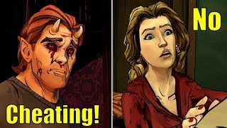Beast Accusing His Wife To Cheat on Him With Bigby -All Choices- The Wolf Among Us