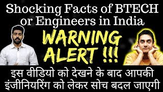 Shocking Reality of Engineering/ Btech in India | Actual Earning of Engineers in India