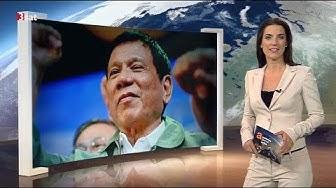 Präsident Rodrigo Duterte befreit die Philippinen von den Drogen (Auslandsjournal extra 30.09.2016)