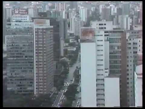 Telemig Belo Horizonte sights and OSIWare X400 training 1993
