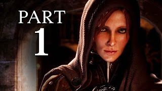 Dragon Age Inquisition Walkthrough Part 1 - Intro & Character Customization (Xbox One Gameplay)