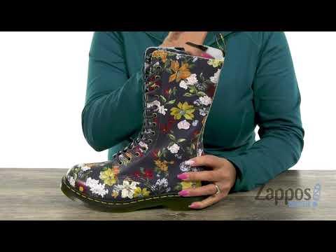 Dr. Martens 1460 W 8 Eye Boot Floral - Planetshoes.comиз YouTube · Длительность: 20 с