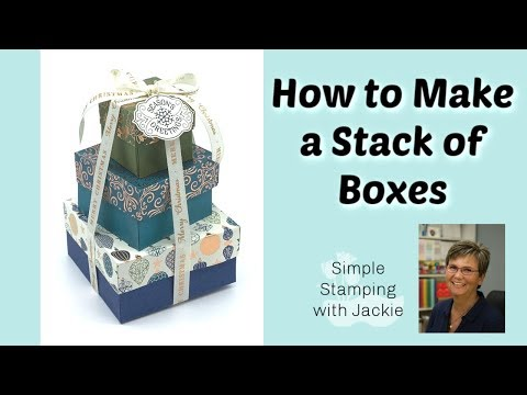 Mind Blowing Gorgeous Gift Boxes You Can Make | Nested Boxes
