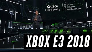 Microsoft Xbox E3 2018 press conference in 16 minutes