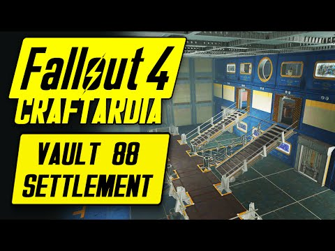Fallout 4 Vault Tec Workshop DLC  - Vault 88 Settlement - Fallout 4 Settlement Building