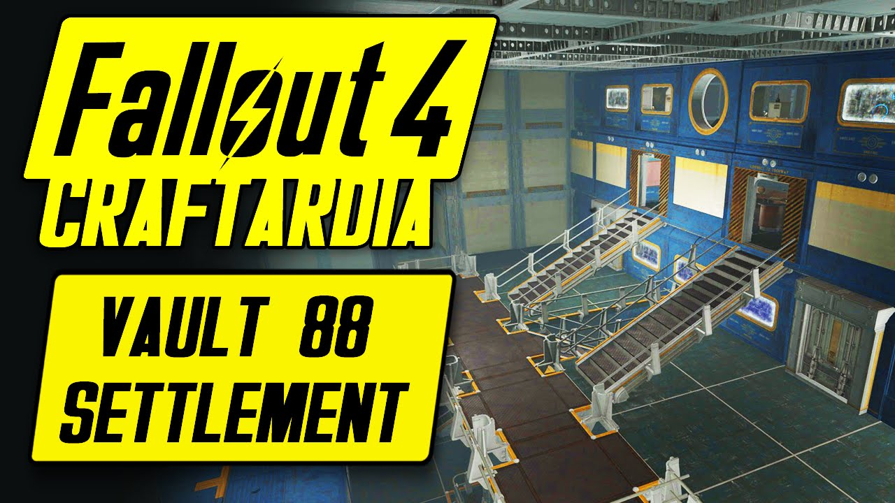 Fallout 4 vault tec workshop dlc vault 88 settlement for Fallout 4 bedroom ideas