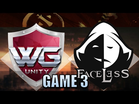 WG Unity VS Faceless #3 DAC 2017