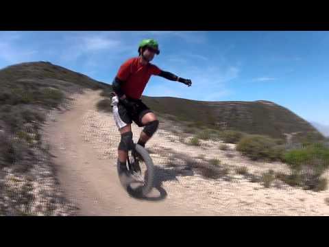 Hazard Peak by Unicycle